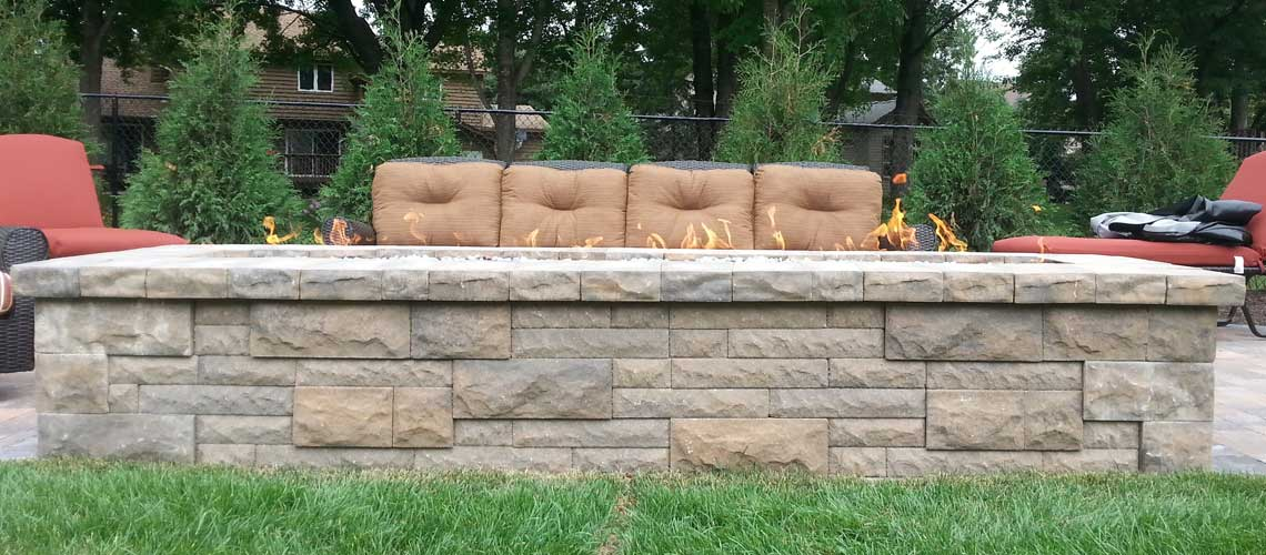 Outdoor Fireplace Design and Installation