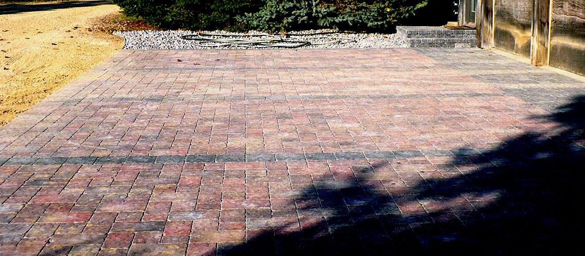 Custom Paver Driveway Design and Installation