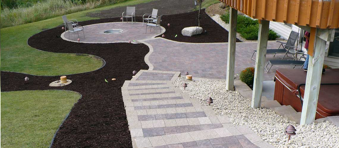 Paver Patio Design and Installation