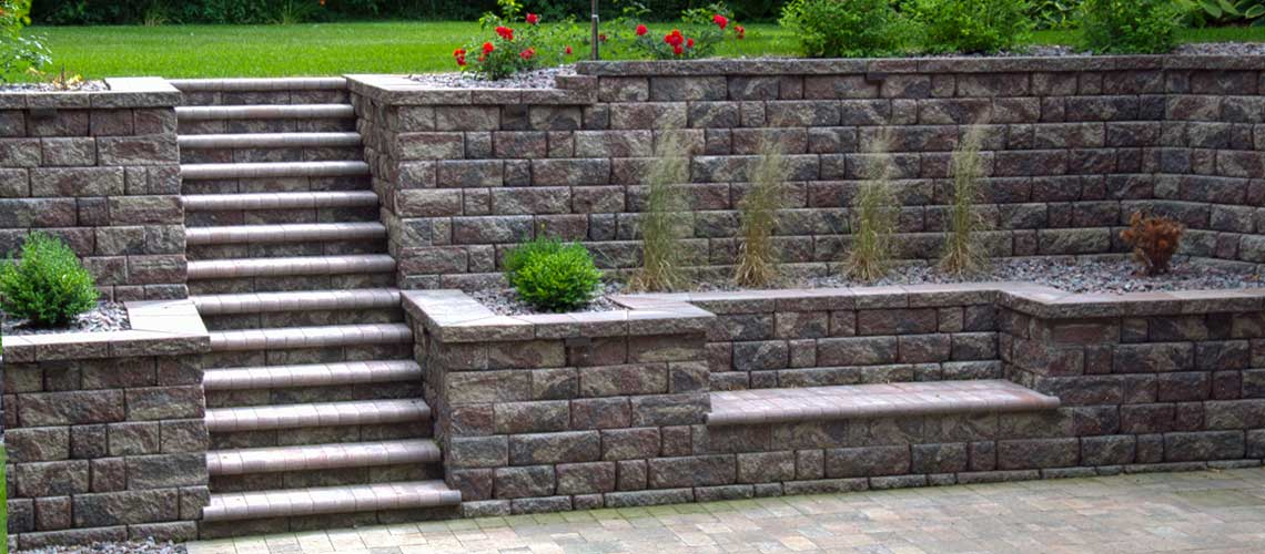 Modular and Block Retaining Wall Design and Installation