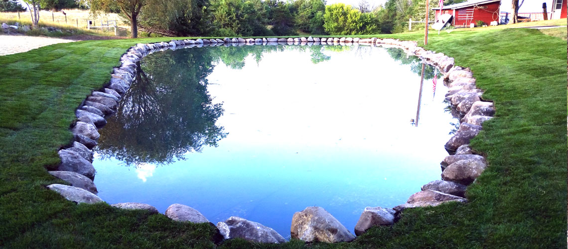 Natural Ponds Design and Installation
