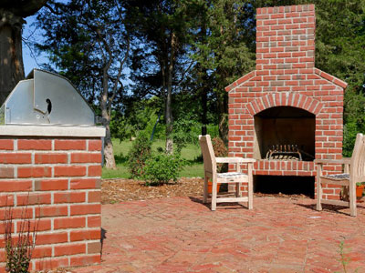Paver Stone Firepits & Fire Places