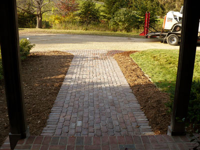 Custom Paver Walkways