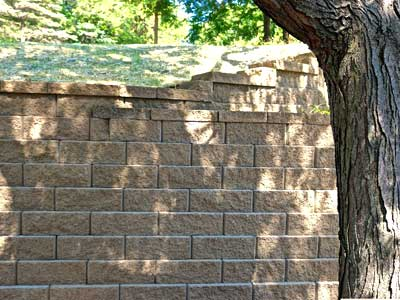 Modular and Block Retaining Walls